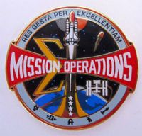 Mission Operations Insignia Lapel Pin
